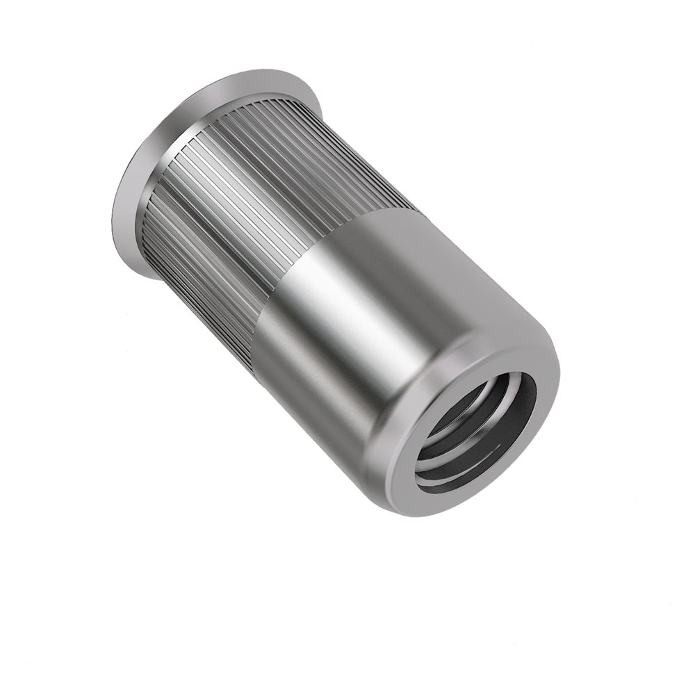 Reduced Head Knurled Body Open End Metric Body